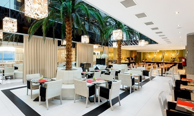 RESTAURANT Nuevo Boston Hotel Madrid- Airport