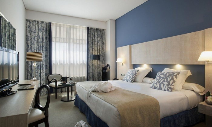 DELUXE ROOM SINGLE USE Nuevo Boston Hotel Madrid- Airport