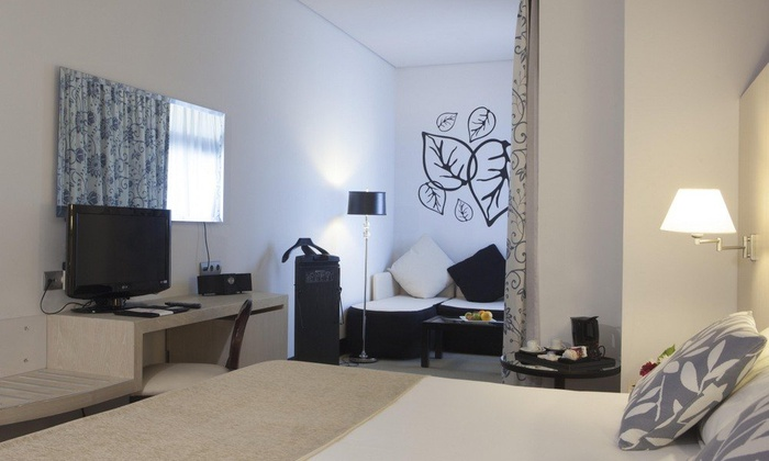JUNIOR SUITE ROOM SINGLE USE Nuevo Boston Hotel Madrid- Airport
